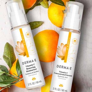 Free Derma E Vitamin C Renewing Moisturizer & Serum