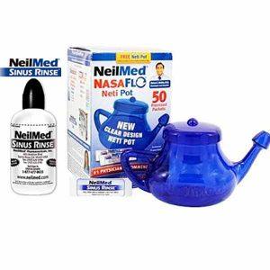 Free NeilMed Sinus Rinse Bottle or NasaFlo Neti Pot