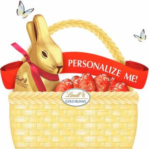 Free Customized Ribbons from Lindt Chocolate