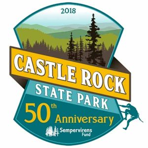 Free 50th Anniversary Castle Rock State Park Sticker