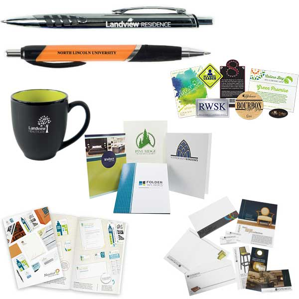 free samples of stationery and marketing materials products