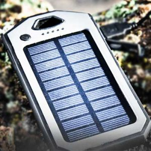 Free Solar-Powered Phone Charger