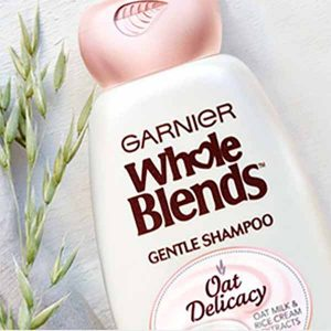 Free Garnier Shampoo and Conditioner