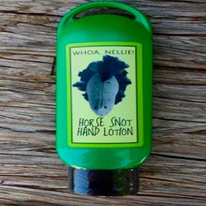Free Whoa Nellie! Horse Snot Hand Lotion