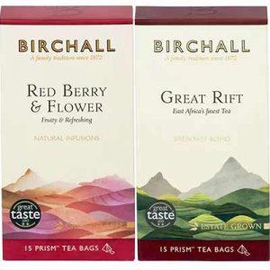 Free Birchall tea samples