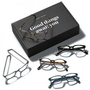 Free eyeglasses. Five Free Glass Frames