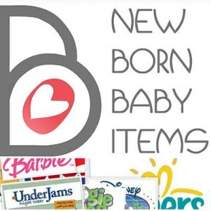 Free New born Baby Items