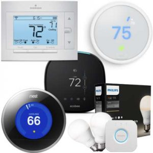 Free Products Heating and Cooling – Thermostat or Philips Hue Lighting Starter Kit