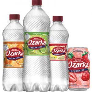 Free Sparkling Ozarka Brand Natural Spring Water