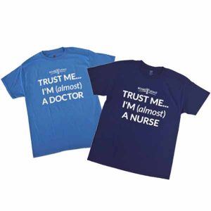 Free T-Shirt for Doctors & Nursing Students