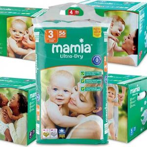 Free Aldi Mamia nappies and wipes samples