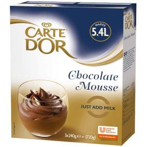 Free Sample of Carte d'Or Chocolate Mousse