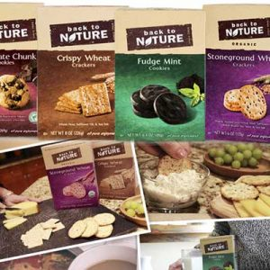 Free Back to Nature Crackers and Cookies
