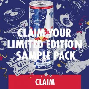 Free Sample Pack of Red Bull