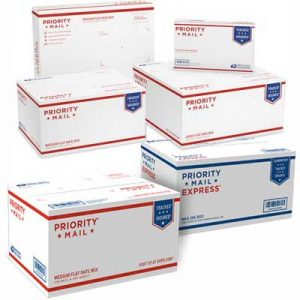 Free USPS Flat Rate Envelopes and Boxes