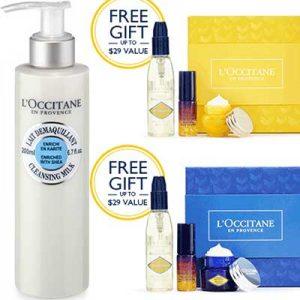Free L'Occitane Skincare Gift Set