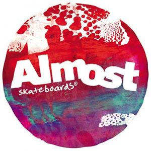 Free Almost Skateboards Stickers