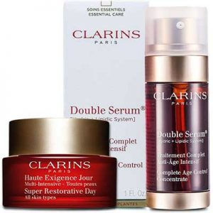 Free Clarins Double Serum & Day Cream