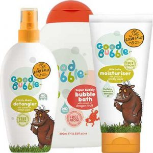 Free Kids' Bubble Bath Sample