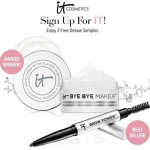 Free Samples Bye-Bye Makeup & Brow Powder
