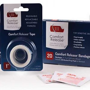 Free Comfort Release Bandages and Tapes