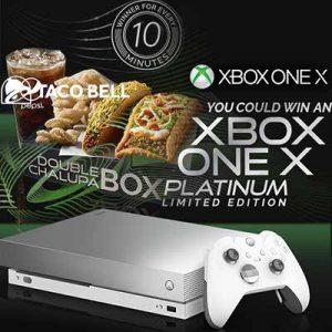 Xbox One X Platinum Limited Edition