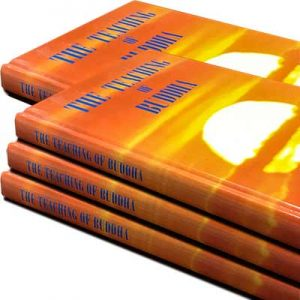 "Free Hardcover Book ""The teachings of Budda"""