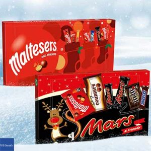 Free Malteser or Mars Selection Box