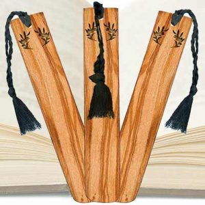 Free Olive Wood Bookmark Sample