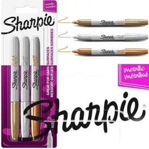 Free Pack of Sharpie Metallic Markers