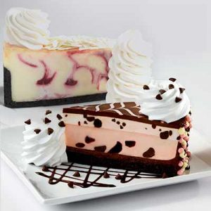 Free Slices of Cheesecake Factory Cheesecake