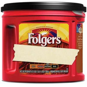 Free Coffee Mug or Folgers Coffee Tumbler