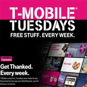 Free Deals On T-Mobile Tuesdays