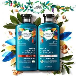 Free Herbal Essences Bio-renew Argan Oil Shampoo & Conditioner Sample