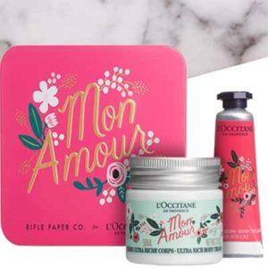 Free L'Occitane Mon Amour Gift Box