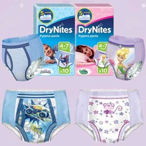 Free Pack of Huggies DryNites
