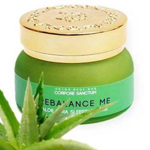 Free Aloe Vera Rebalance Sleeping Mask