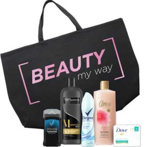 Free Beauty My Way Bag With Samples
