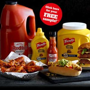 Free Frank's RedHot Pepper Sauce and French's Mustard