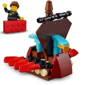 Free LEGO Viking Ship Model