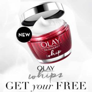 Free Olay Regenerist Whip Moisturizer