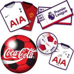 Free Premier League Club Shirts and Footballs