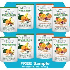 Free Compleat Organic Blends Blenderized Tube Feeding Food