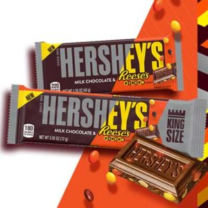Free Hershey's Milk Chocolate with Reese's Pieces Candy Bar