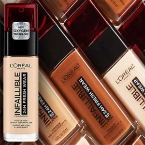 Image result for copyright free image of loreal freshwear foundation