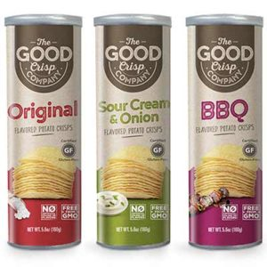 Free The Good Crisp Company Flavored Potato Crisps