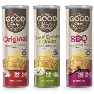 Free The Good Crisp Company Flavored Potato Crisps