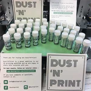 Free Dust'N'Print 3D Printer Bed Adhesive Sample