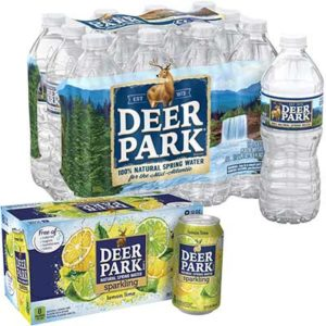 Free Pack of Deer Park Sparkling Water