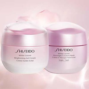 Free Shiseido Face Cream & Mask
